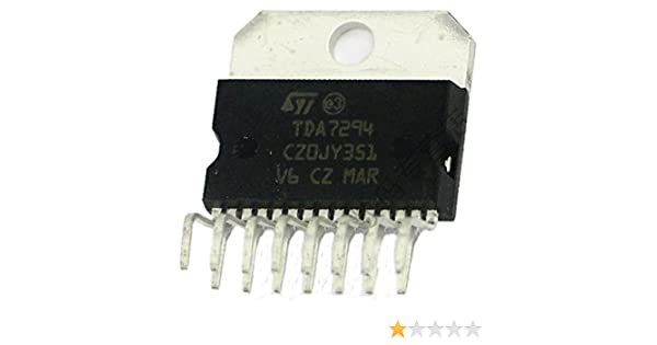 Amazon.com: Sunkee TDA7294 DMOS Audio Amplifier ST IC ...