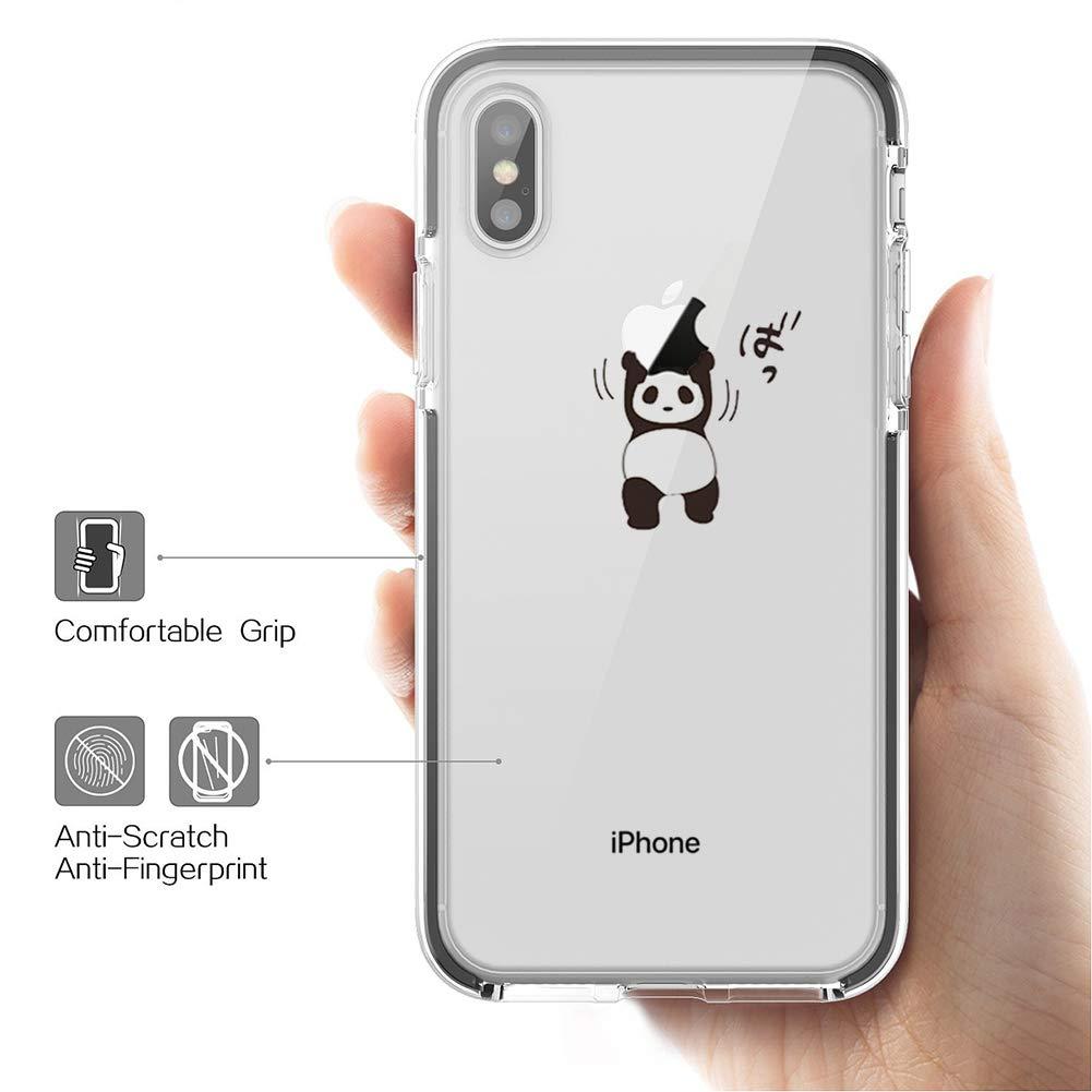 Bakicey iPhone XS h/ülle iPhone XS handyh/ülle Ultra D/ünn Soft Silikon Transparent Schutzh/ülle iPhone X Schutzh/ülle TPU Bumper Kratzfeste Case Tasche H/ülle f/ür Apple iPhone XS//iPhone X Case Cover Z13