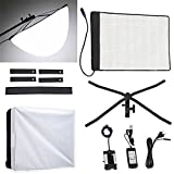 Fomito RX-18T Foldable Roll-Flex LED Light Kit 5600k + RX-18OB Extended Softbox Diffuser + RX-18SB Standard Diffusor