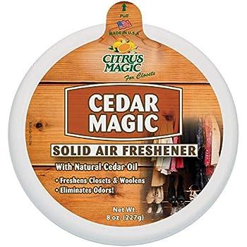 Citrus Magic Solid Air Freshener Cedar, 8-Ounce