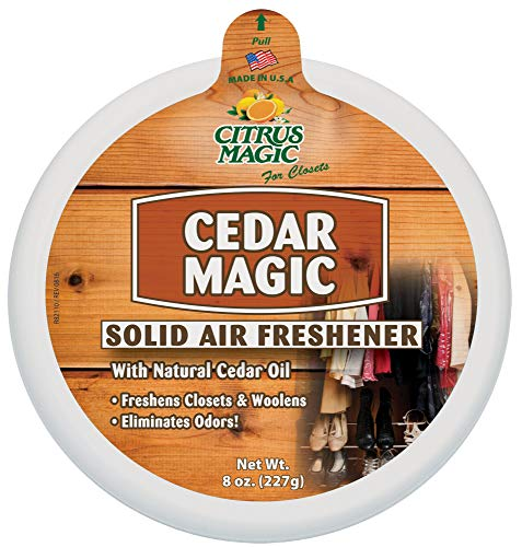 Cedar Magic Solid Air Freshener For Closets, - Fresheners Air Me Do