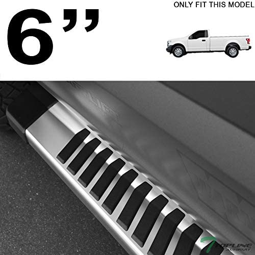 """For 2015-2019 Ford F150//F250 Crew Cab 6/"""" OE Aluminum Side Step Running Boards jz"""