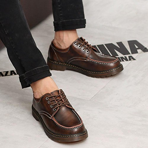 uomo EU Scarpe Sunny Top Resistente per Lece Up Brown 45 amp;Baby Stivaletti vera pelle suola Size all'abrasione Color Low da in gentiluomini Brown Oxfords Bpptrxq7