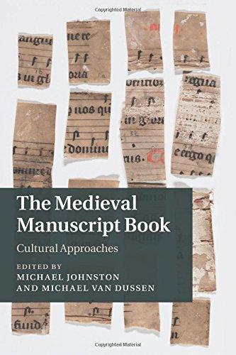 Download The Medieval Manuscript Book: Cultural Approaches (Cambridge Studies in Medieval Literature) pdf