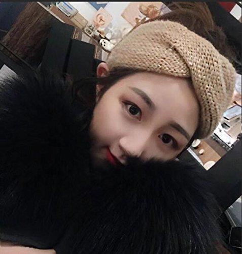 usongs High-end woven wool mohair blending gold ribbon headdress broadside hair bands Sen women girls fashion Dongkuan