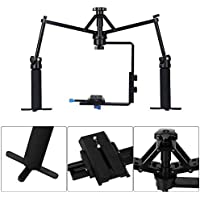 Andoer Mini Camera Video Handheld Stabilization Rig Mechanical Stabilizer for Camcorder DV Video Camera DSLR