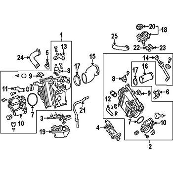 Amazon Com Mercedes Benz 642 141 01 80 Fuel Injection Throttle