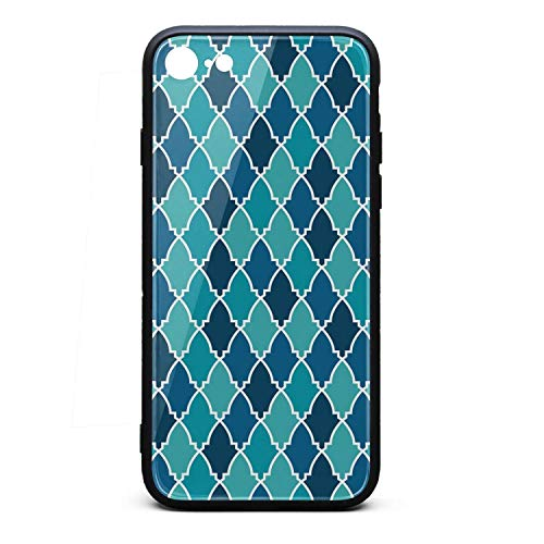 Phone Case for iPhone 6/6S Mosaic Lattice TPU Protective Cute Anti-Scratch Fashionable Glossy Anti Slip Thin Shockproof Soft Case