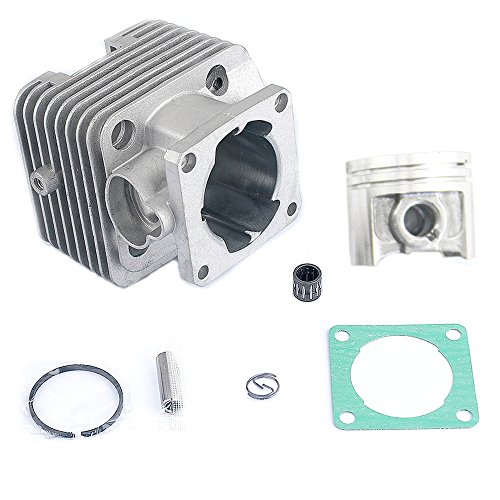 Cutter Assembly Kit (Savior 40mm Big Bore Cylinder Head Piston Rebuild Kit Ring Pin Clips Assembly for STIHL FS250 FS250R FS200 FS200R FS120 Brush Cutter)