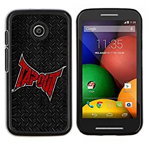 """Be-Star Único Patrón Plástico Duro Fundas Cover Cubre Hard Case Cover Para Motorola Moto E / XT1021 / XT1022 ( Tapou"""" )"""