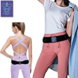 Everyday Medical Sacroiliac Hip Belt for Women and Men, Anti-Slip and Firm Compression, Adjustable SI Joint Brace, Alleviates Hip, Pelvic, Sciatica, Lower Back and Leg Pain - Small (S)/Medium (M)