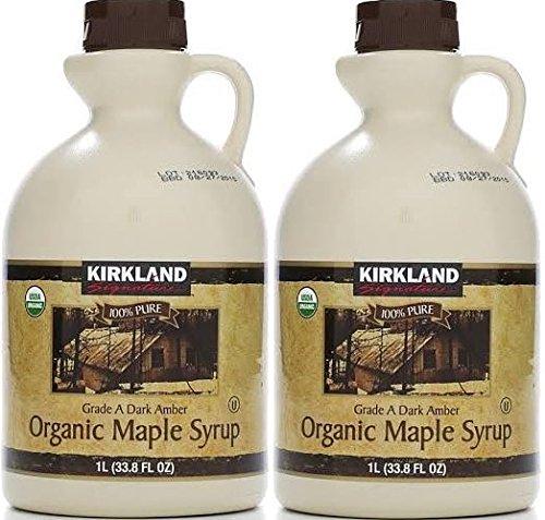 Kirkland Signature Organic Maple Syrup, (67.6 Fluid ()