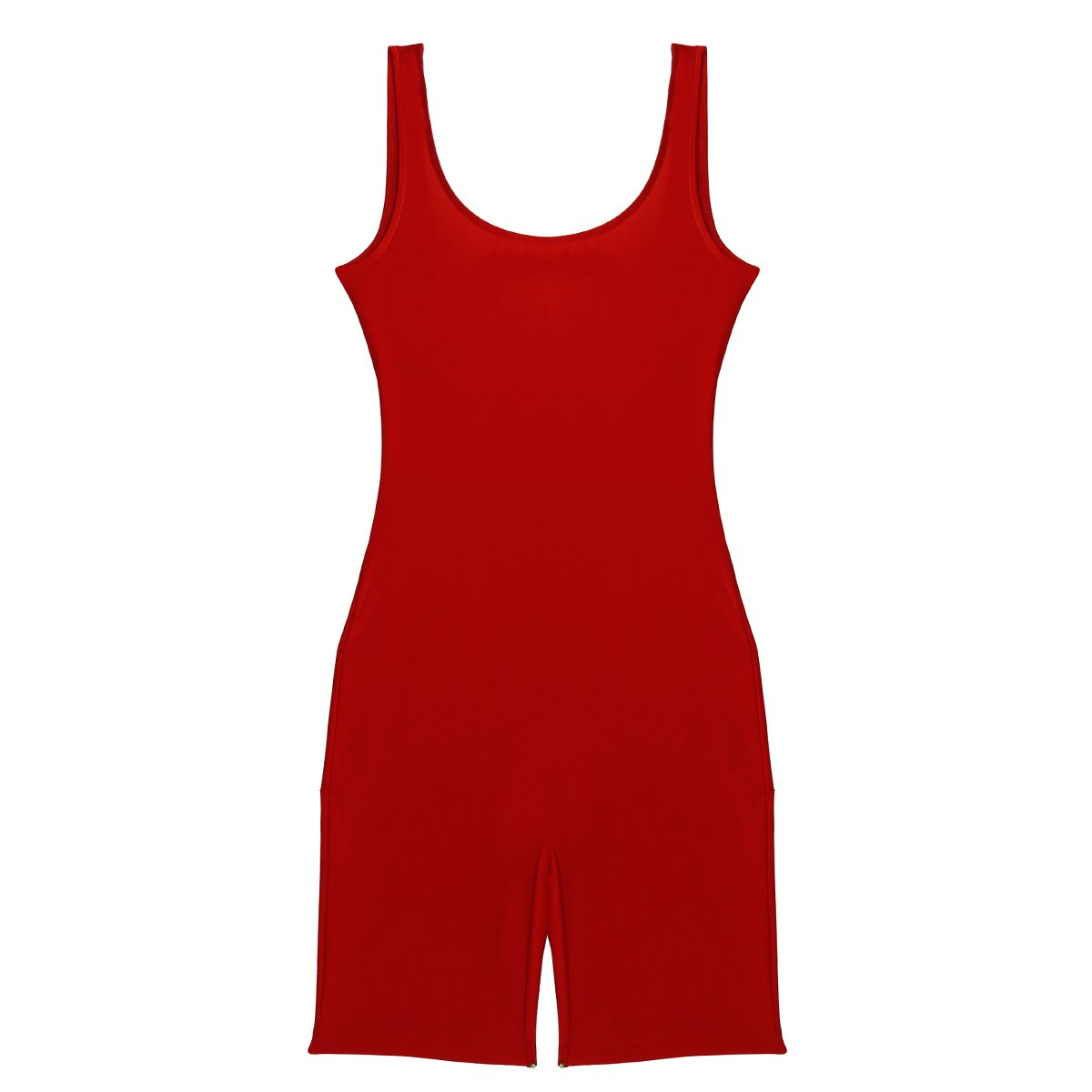 easyforever Womens Skinny Tank Leotard Athletic Sports Knee Length Active Yoga Unitard Bodysuit