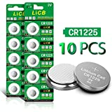 Health & Personal Care : LiCB 10 Pack CR1225 3V Lithium Battery CR 1225