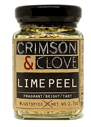 Lime Zest (Granulated Lime Peel by Crimson and Clove (1.7 Oz.))
