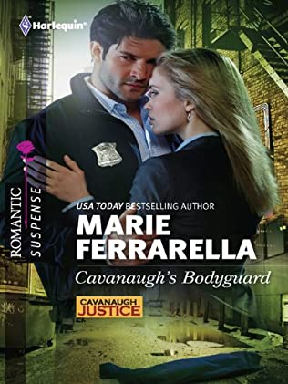 book cover of Cavanaugh\'s Bodyguard