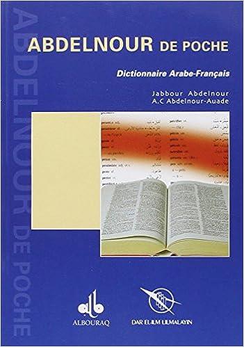 Amazon Fr Abdelnour Poche Arabe Francais Jabbour