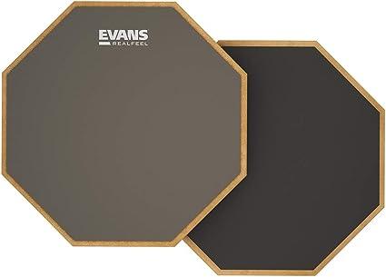 Evans Realfeel 2-Sided Practice Pad, 12 Inch