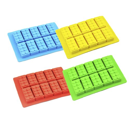 Silicone DIY Ice Cube Rectangle Mould Building Block for sale  Delivered anywhere in Canada