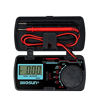 EM3081 Digital Multimeter Measuring DC and AC Voltage Ammeter Voltmeter Ohm Portable Meter Voltage Meter