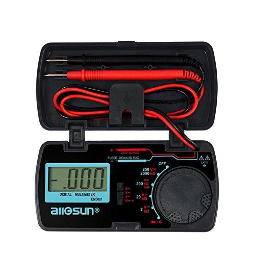 Digital Multimeter Multi Tester Amp Volt Ohm Meter Diode and Continuity Test
