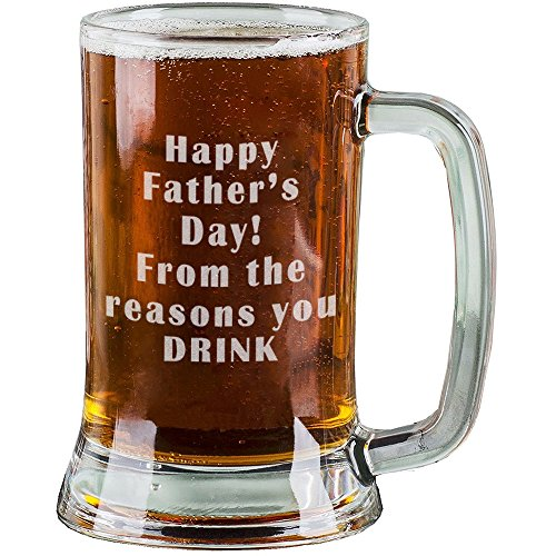 Beer Stein Funny Novelty Christmas Birthday Frosted Pint Glass Elegant Appearance Dandellion