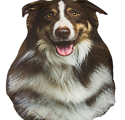 3D Animal Prints Blanket Bedding Dog Shaped Summer Quilt Shepherd Comforter Washable Light Quilt by Getime