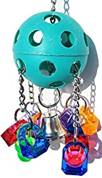 Bonka Bird Toys 1938 Paci-Pull Bird Toy parrot cage toys cages african grey conure