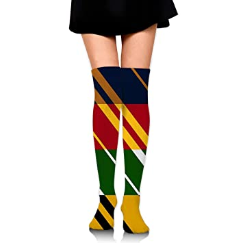 Knee High Leg Warmer Funny House Pride Compression Sock High ...