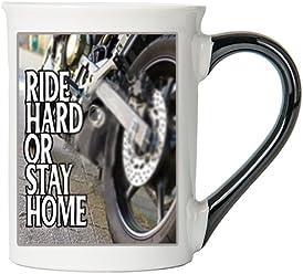 Ride Hard Or Stay Home Mug, Harley Coffee Cup, Harley Cup, Harley Gifts By Tumbleweed