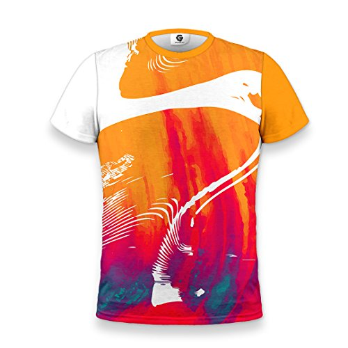 Gateseven Style Urban Waves Uomo T shirt Streetwear qSwq0Ffa