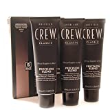 AMERICAN CREW Precision Blend Natural Gray Coverage 3x40ml 4-5 MEDIUM NATURAL by American Crew