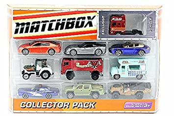 Buy Matchbox Car 10 Pk Collector Cars Medevial Classic Police