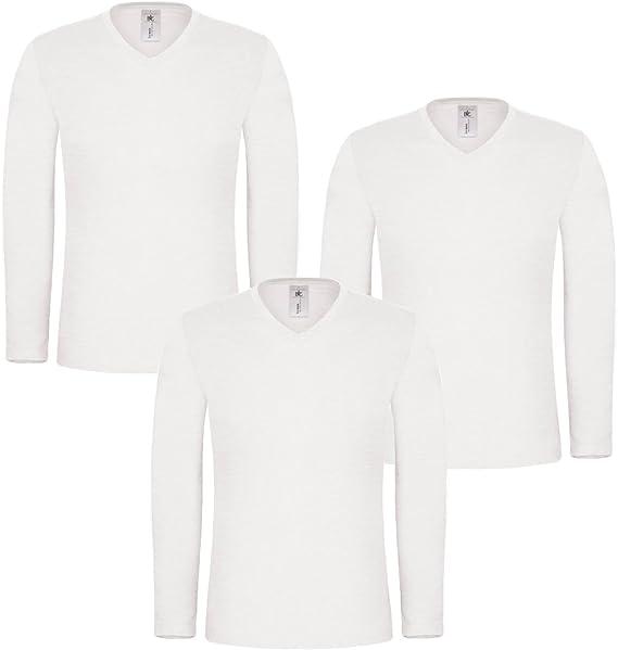 Style It Up T Shirt à Manches Longues Uni Manches
