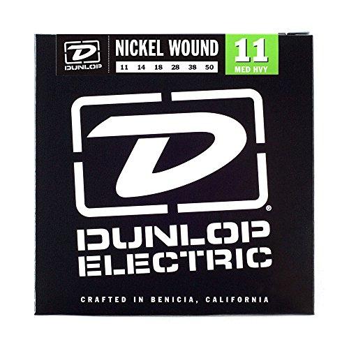 Dunlop DEN1150 Nickel Wound Electric Guitar Strings, Medium/