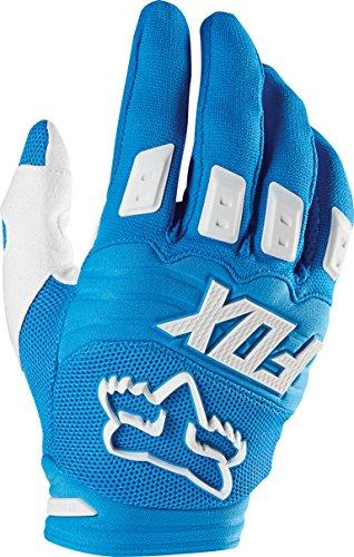 Fox Men's Dirtpaw Race Gloves, Blue, 2X