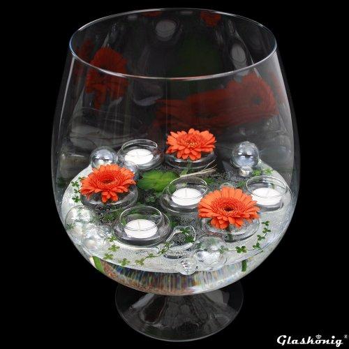 Cognacglas / Bowleglas groß Höhe 38cm Ø 24cm