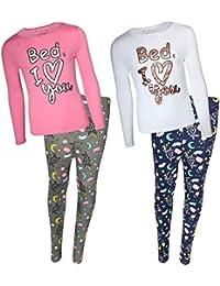 dELiAs Girls Yummy Pajama Sleepwear Sets (2 Full Sets)
