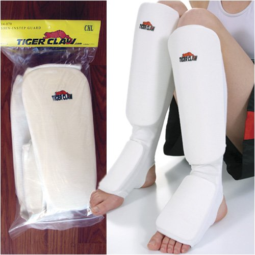 Tiger Claw Cloth Shin-Instep Gurad - Small