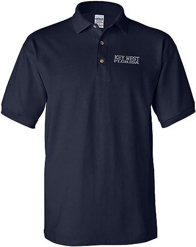 Amazon.com: Custom Polo Shirts for Men Florida Key West America ...