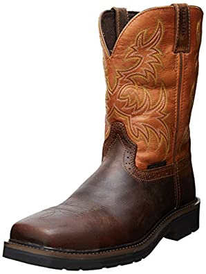 Amazon Com Justin Original Work Boots Men S Stampede