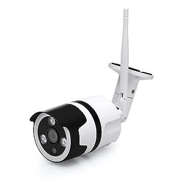 EMAX Cámara de Seguridad Bala,Resistente al Agua Súper HD Monitor de Seguridad Cámara de
