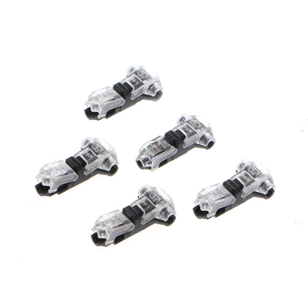 Transparent 5pcs connecteur damarrage de connecteur pour Animaux domestiques /à Une Ligne /à Deux Fils YoungerY