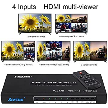 top best Avenk Quad Multi-Viewer