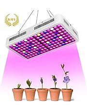800W Led Horticole,Roleadro Lampe pour Plante Lampe Horticole Croissance Floraison Full Spectrum Led Grow Light pour Les Plantes d'intérieur Semis Croissance Floraison et Fructification