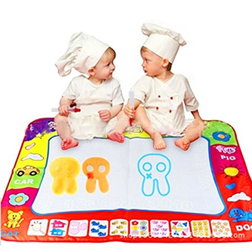 80X60cm Baby Drawing Writing Board Water Painting Doodle Canvas - 5