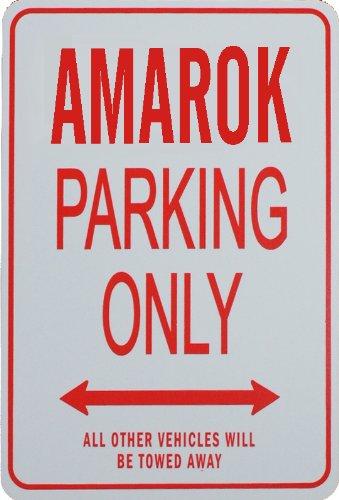 AMAROK Parkplatz nur Zeichen