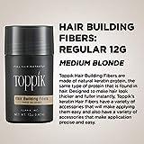 Toppik Hair Building Fibers, Medium Blonde, 0.42 oz