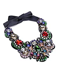 Holylove 4 Color Bling Chocker Women Novelty Necklace 1 PC with Gift Box