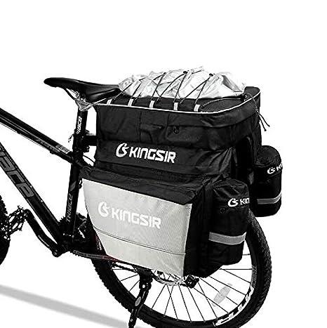 KUANDARMX Bolsa Trasera para Bicicleta Bolsa De Asiento Trasero ...